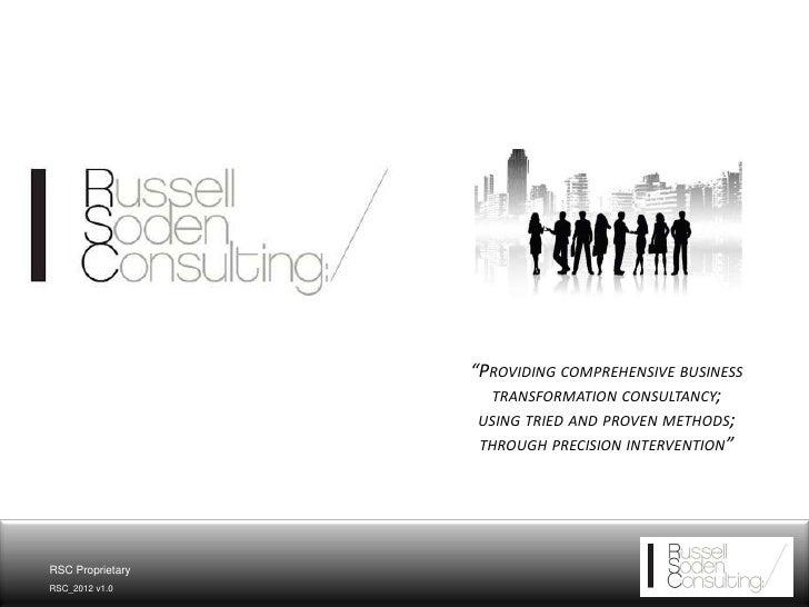 RSC   Presentation 2012