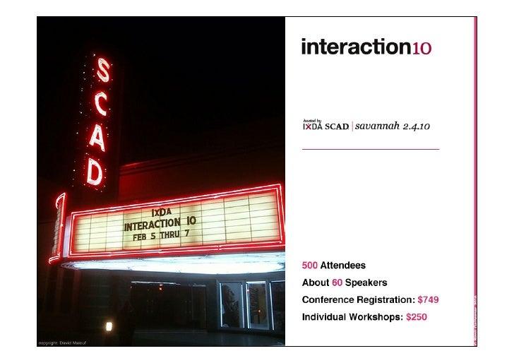 Interaction10 @RSE10