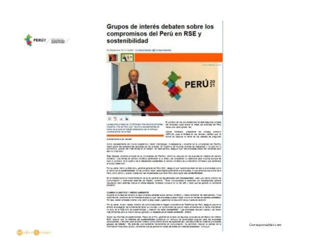 Peru Compromisos Los Compromisos Del Perú