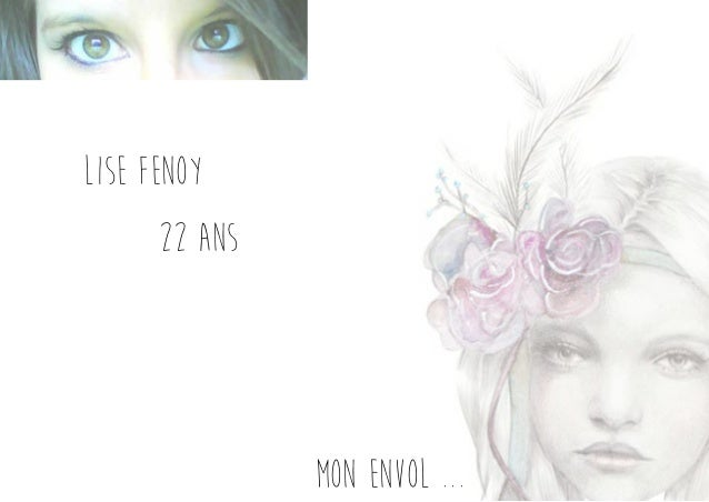 Lise Fenoy 22 ans mon envol ...