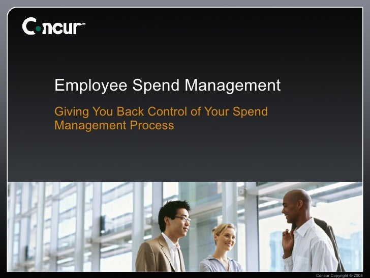 Employee Spend Management Giving You Back Control of Your Spend Management Process