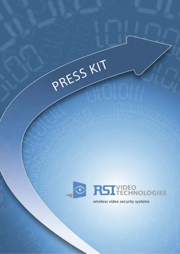 PRESS KIT                                            TABLE OF CONTENTS            RSI VIDEO TECHNOLOGIES, an innovative co...