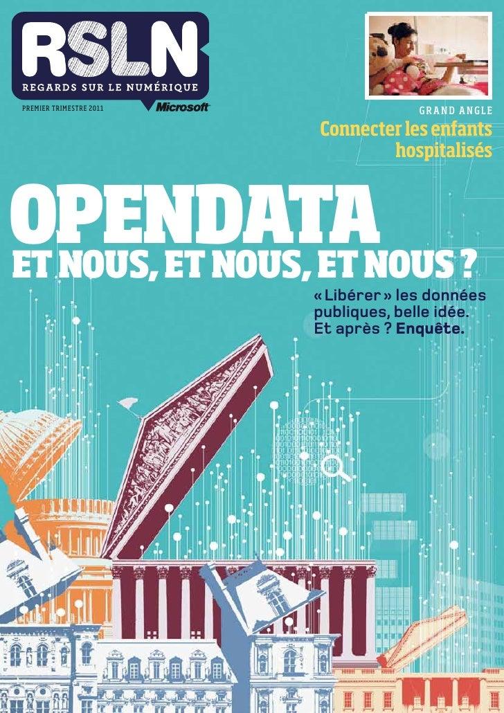 RSLN #9 - Opendata : et nous, et nous, et nous ?
