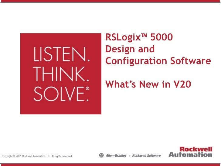 RSLogix™ 5000                                                                  Design and                                 ...