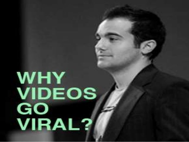 Kevin Allocca a trends manager atYou Tube explains how anybodycan become famous over a viralvideo.