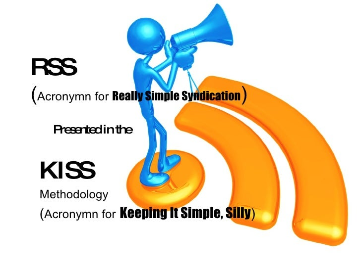 RSS via KISS