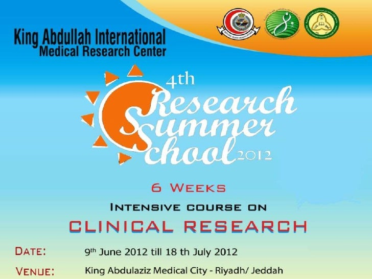 Introduction to Research Research Summer School RSS 2012