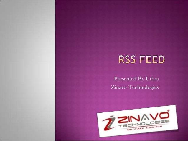 Presented By Uthra Zinavo Technologies