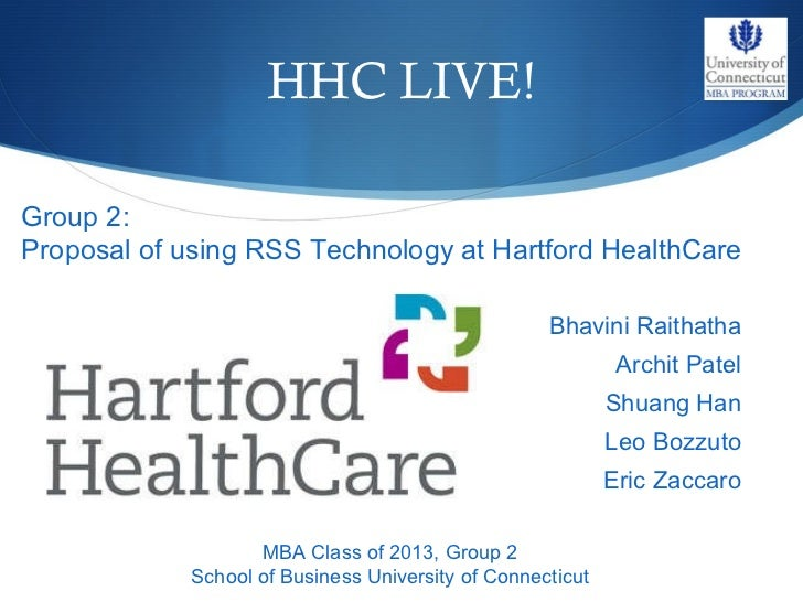 RSS Feed technology for Hartford Healthcare