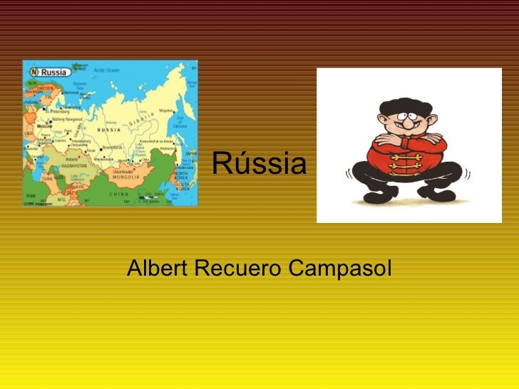 Rússia Albert Recuero Campasol
