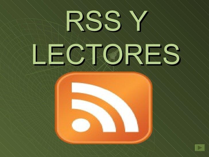 Rss+Y+Lectores