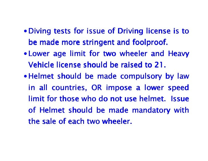 driving age should not be raised essay There's no easy answer, unfortunately, for determining if the legal driving age should be raised for every statistic, there's a caveat, and for every argument, there's a counterargument.