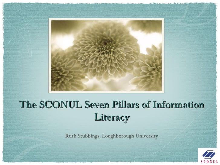 The new SCONUL 7 pillars