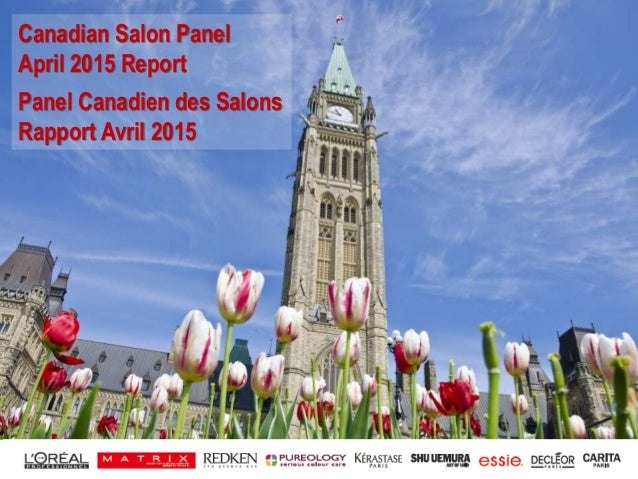 1 Canadian Salon Panel April 2015 Report Panel Canadien des Salons Rapport Avril 2015