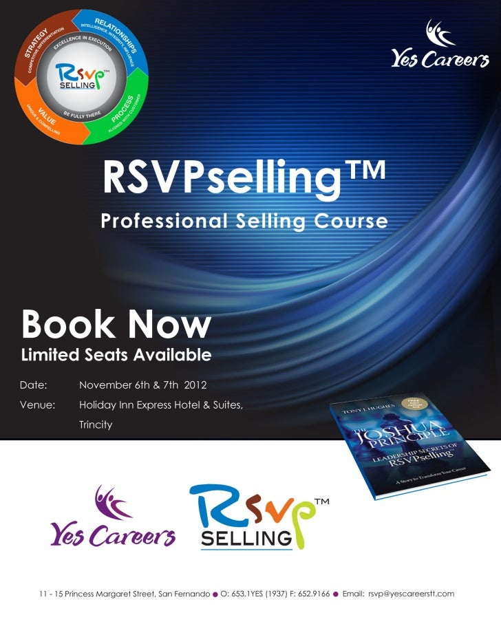 Rsvp selling for power sellers. 2012