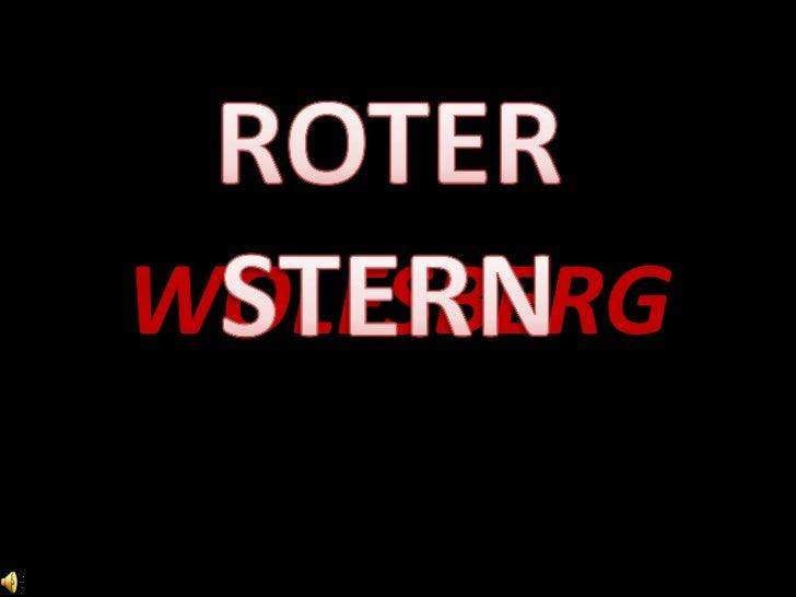 ROTERSTERN<br />WOLFSBERG<br />