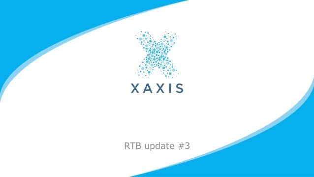 RTB update #3