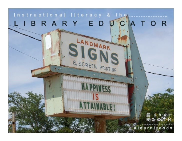 Instructional Literacy and the Library Educator: Reflective Habits for Effective Practice