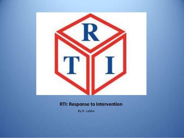 Rti response to intervention ny