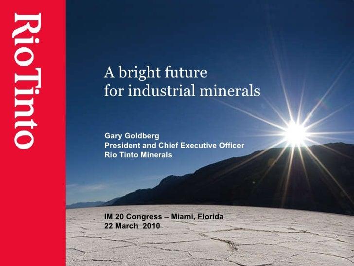 Industrial Minerals Congress