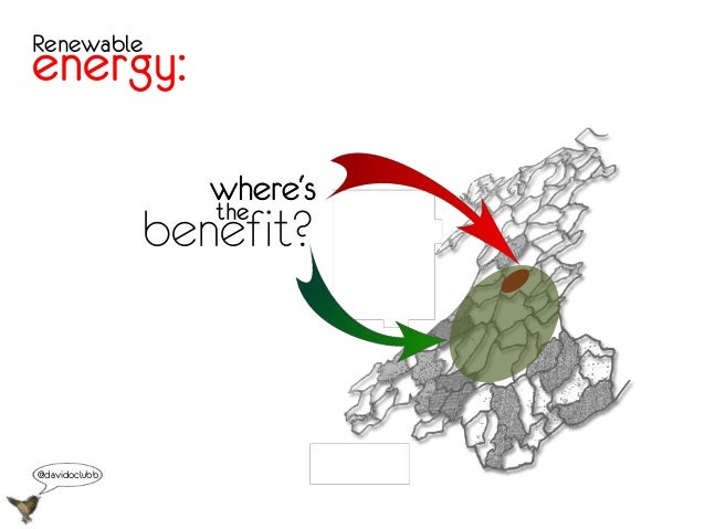 Renewableenergy:where'sbenefit?the@davidoclubb