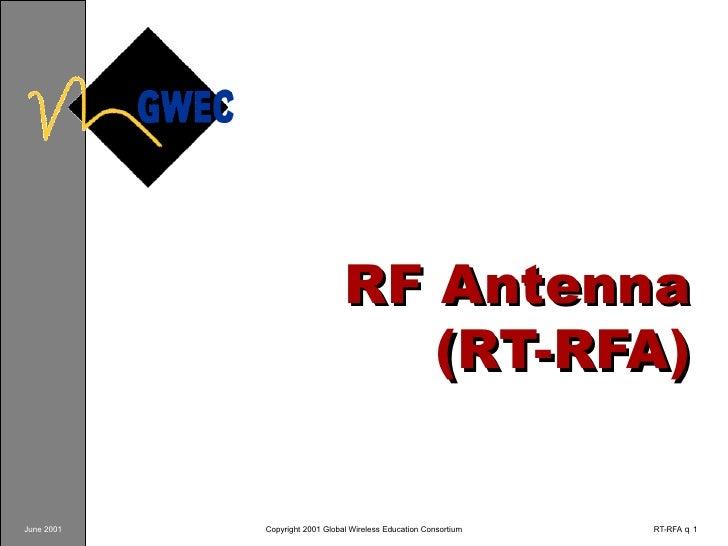 RF Antenna (RT-RFA)