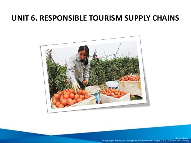 UNIT 6. RESPONSIBLE TOURISM SUPPLY CHAINS Picture source: http://images.danviet.vn/CMSImage/Resources/Uploaded/baogiay2/26...