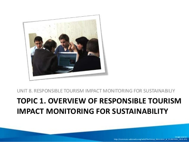 Responsible tourism and sustainability