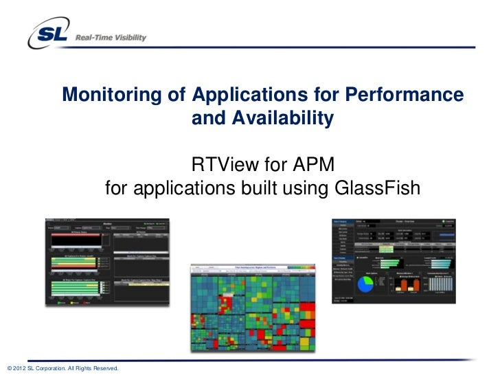 Monitoring of Applications for Performance                                   and Availability                             ...