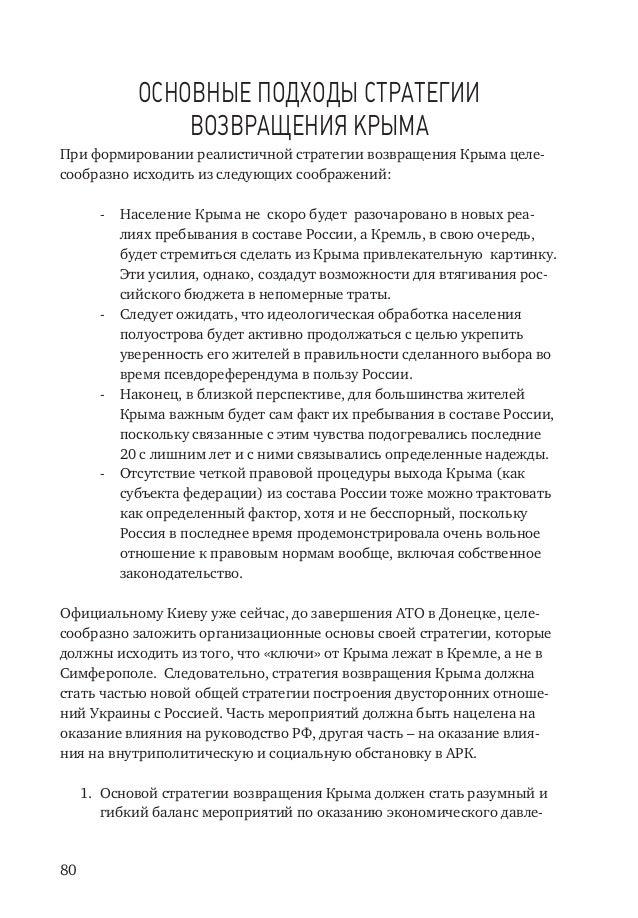 возвращения Крыма При