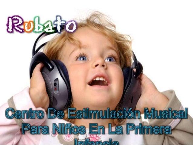 """Misión    El centro de estimulación musical """"Rubato"""", es una institución especializada en la formación musical y estimulac..."""