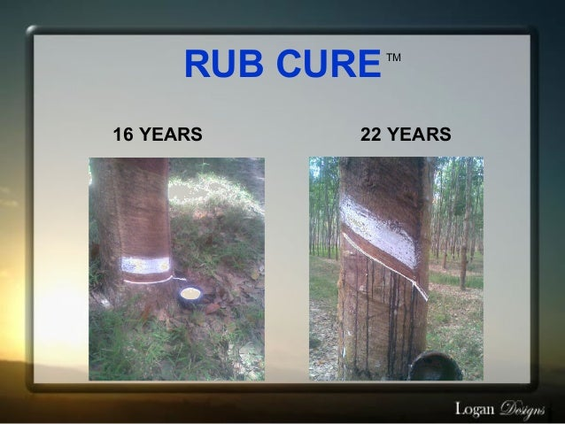 RUB CURE   TM16 YEARS     22 YEARS