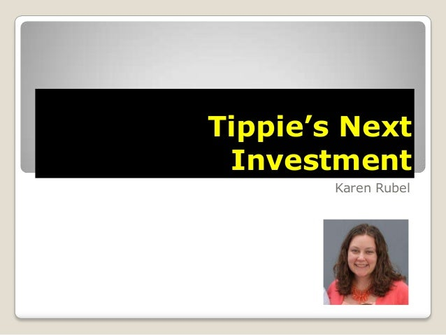 Tippie's Next Investment Karen Rubel