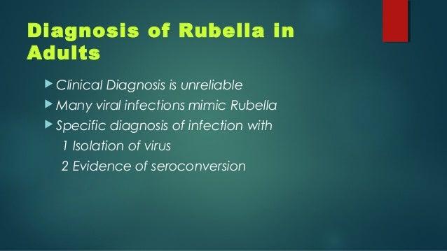 Rubella And Adults