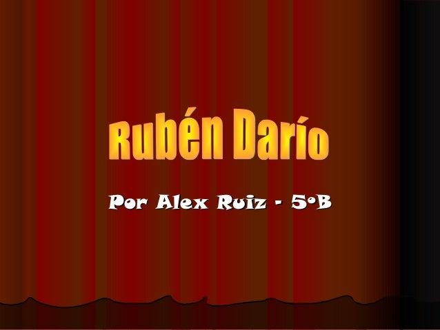 Alex R 5ºB