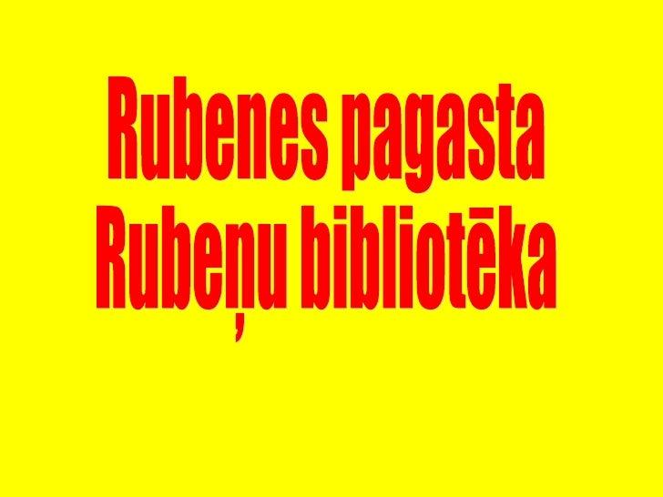 Rubenu biblioteka md