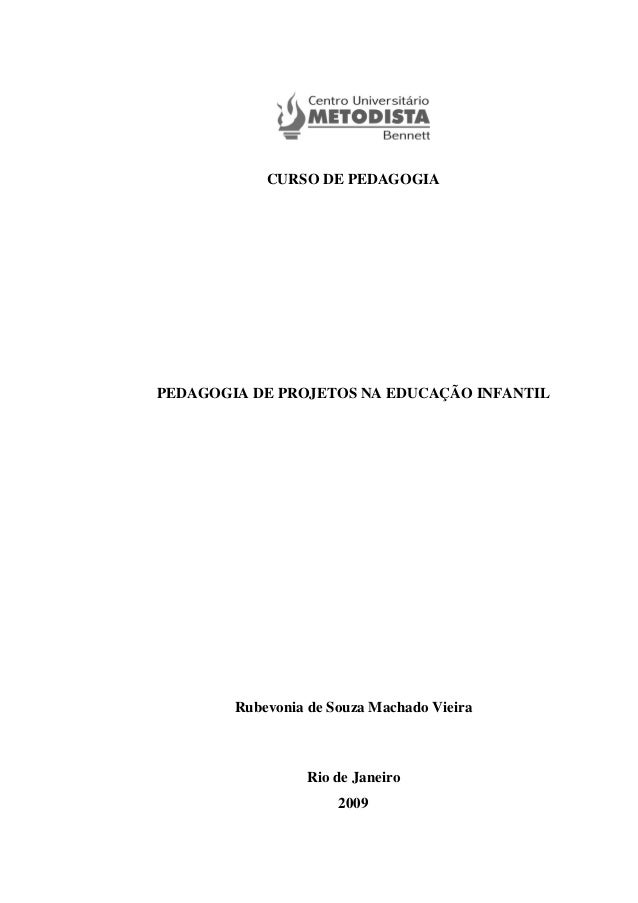 Pedagogia de Projetos na Ed. Infantil