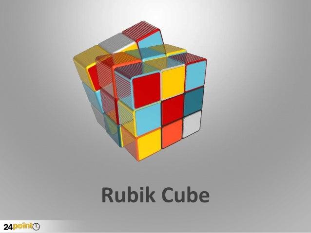 Rubik Cube Shapes PPT