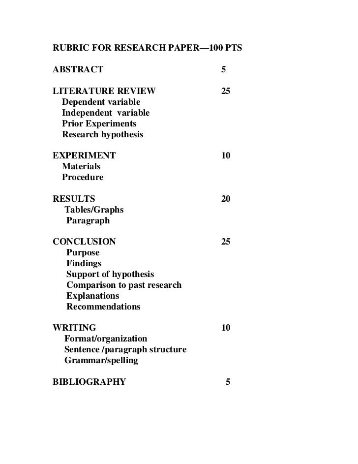 rubric for research paper Here you can find all information regarding research paper rubric you can download a free sample on research paper rubric.