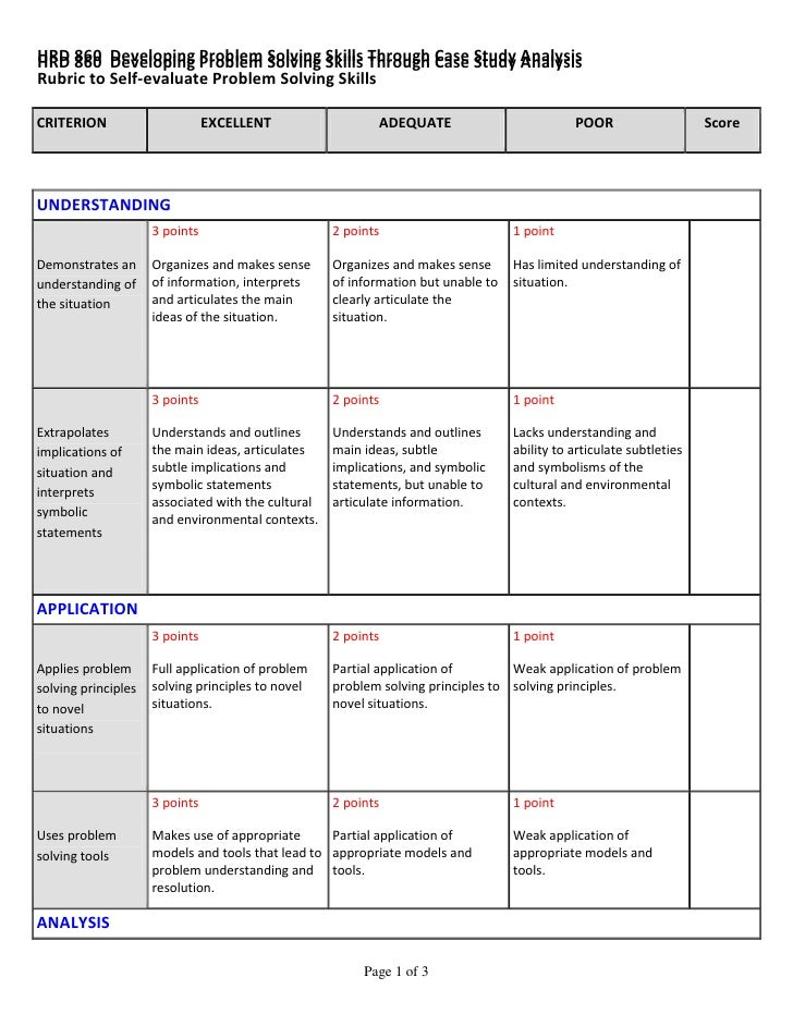 Pre K Assessment Rubric Critical Thinking - image 5