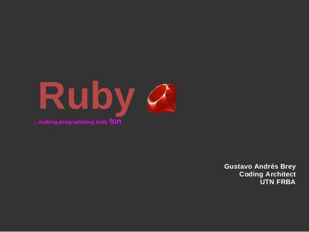 Caracteristicas de Ruby