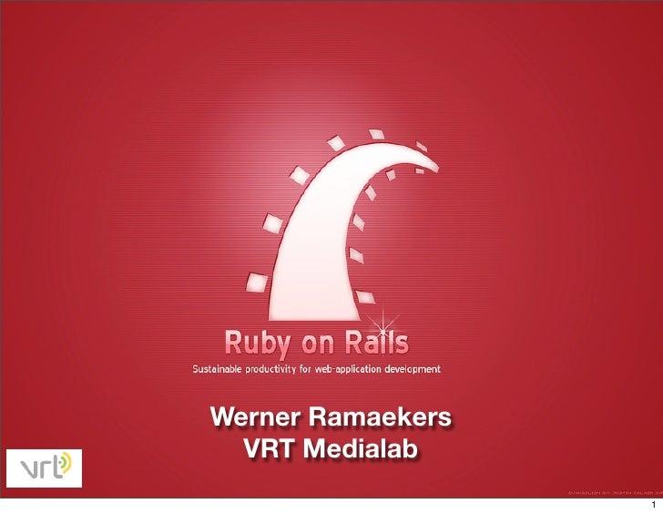 Ruby on Rails for media