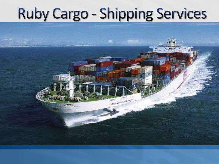 Ruby Cargo - Shipping Services<br />