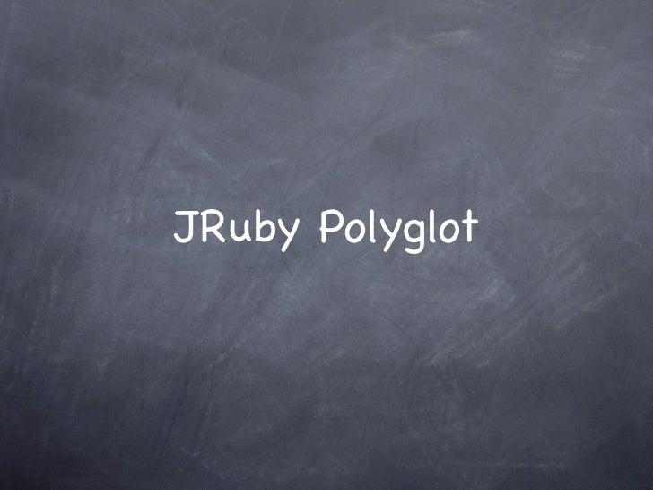 JRuby Polyglot
