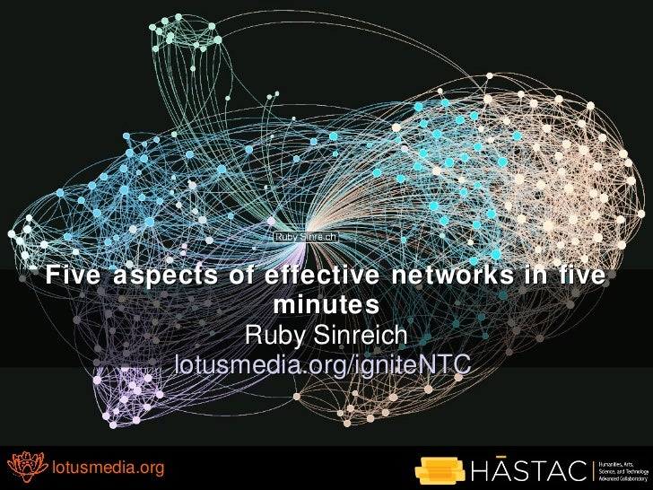 5 aspects of effective networks in 5 minutes v2