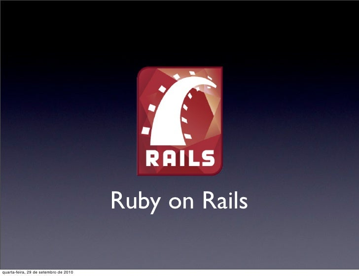 Ruby on rails - CEFET de Lagarto