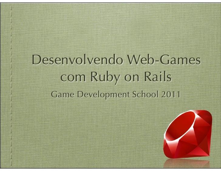 Ruby on rails   gds 2011