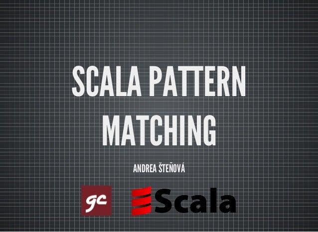 Pattern matching scala if