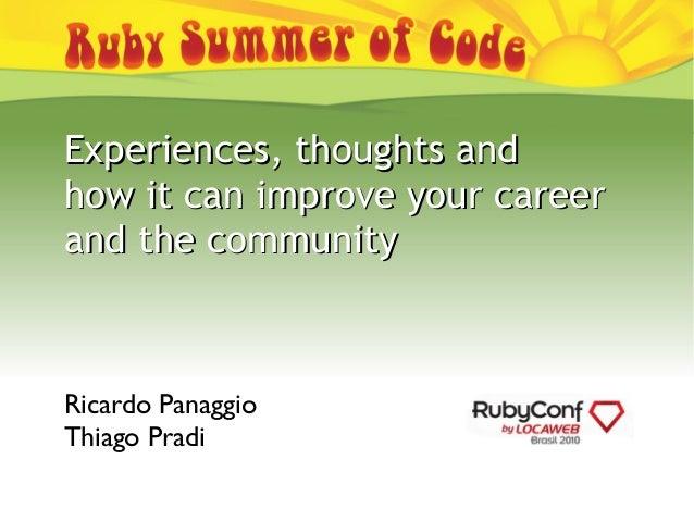 Rubysoc final RubyConfBR