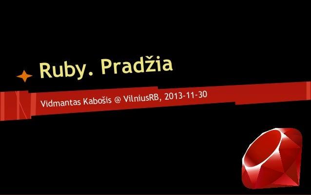 y. Pradžia Rub 013-11-30 ošis @ VilniusRB, 2 Vidmantas Kab